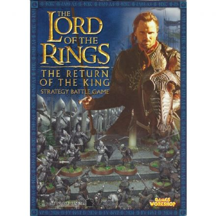 The Lord of the Rings The Return of the King Rulebook 2003